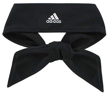 adidas Unisex Tennis Tie II Hairband Black/White ONE SIZE