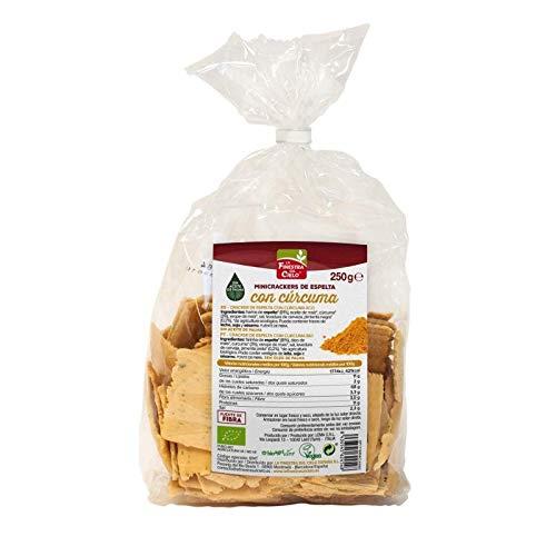 Mini crackers de Espelta con Cúrcuma y Pimienta La Finestra Sul Cielo 250 g