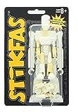 Stikfas Action Figure Kit Pre-Assembled Alpha Male White