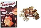 Verkade Café Noir   Galletas de verkade   Café Noir Galletas desde Holanda   Galletas europeas con sabor al café   Pack de 7.05 onza   250 gramos Total