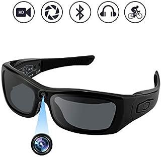 Camakt Bluetooth Sunglasses Camera, Full HD 1080P Digital Camera Video Recording Polarized Glasses for Sport