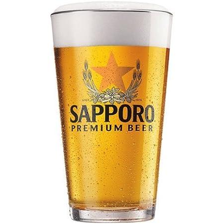 Sapporo Beer Glass Pilsner 16oz BRAND NEW