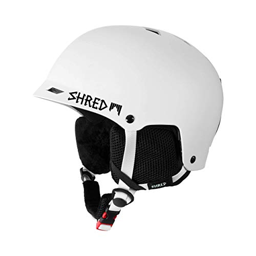 SHRED Helm Half Brain B-Line Ski, Snowboard, white, M/L/XL