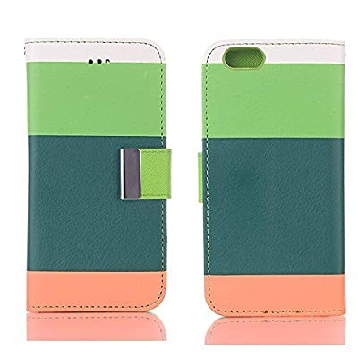 iPhone 7 Cute Case,EFUS Screen Protective with Cards Slots Cash Holder Magnetic Smart Color PU Leather Stand Cover Flip Card Holder Wallet Case for iPhone 7 4.7 inch(iPhone 7, A05)