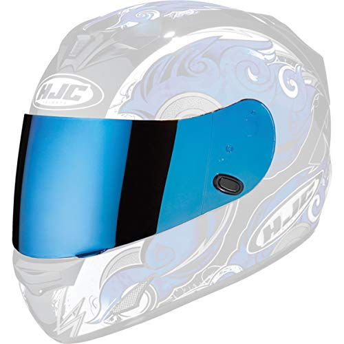 HJC Helmets Rst Shield for Ac-12, Ac-12 Carbon, Cl-15 and Cl-Sp (19-007, Blue)