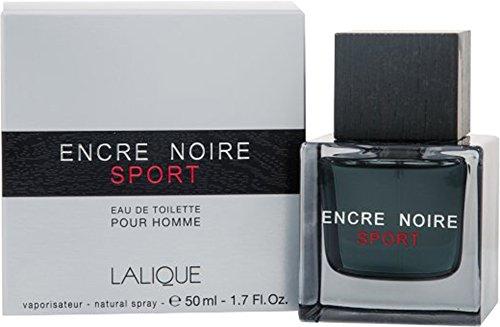 Lalique ENCRE Noire sport pour homme 50ml Eau de Toilette da uomo, con sacchetto regalo