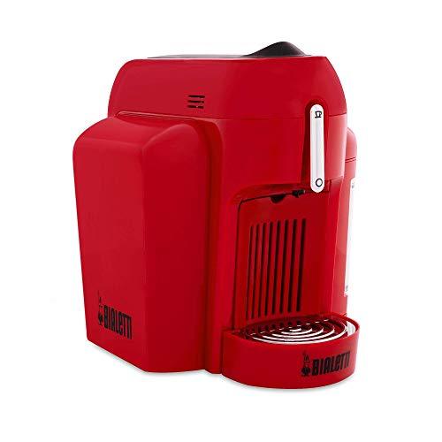 Bialetti Mini Macchina da Caffè Espresso per Capsule in Alluminio sistema Bialetti il Caffè d'Italia, Red