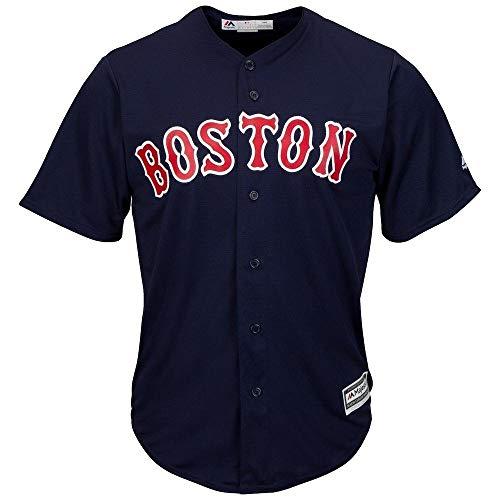 Majestic Boston Red Sox Cool Base MLB Trikot Alternate Navy M