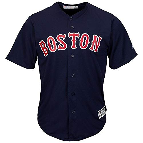 Majestic Boston Red Sox Cool Base MLB Trikot Alternate Navy L