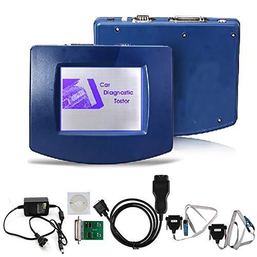 TERMALY Kfz-Diagnosewerkzeug Kilometerzähler-Kalibrierungswerkzeug, FÜR Digi Prog III DigiProg 3 Vollständig konfigurierter Kilometerzähler/OBD-Konfiguration v4.9,A