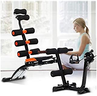 Jukkre 22 Different Mode for Exercise and Fitness Six Pack Abs Exerciser Machine With Cycle for Exercise and Fitness Witho...