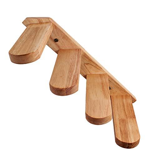 certylu Escalera de Gato, Escaleras de Madera montadas en la Pared Marco Muebles para Mascotas Play House 40x22x6cm/15.75x8.66x2.36in