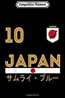 Composition Notebook: Japan Japanese Flag Japan Soccer Jersey Style Journal/Notebook Blank Lined Ruled 6x9 100 Pages