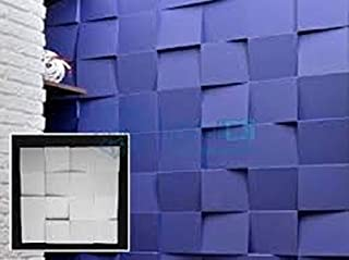 Cubes Plastic Molds for 3 D Panels Plaster Wall Stone Form 3D Decor Wall Panels