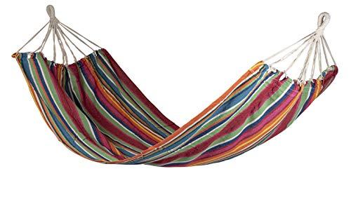Bo-Garden - Hamaca de mimbre, multicolor