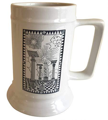 Witherden's Workshop First Degree – Jarra de cerámica de 18 onzas – Masonic