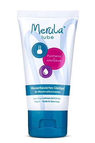 Merula Lube - Wasserbasiertes Gleitgel für Menstruationstassen (50 ml)