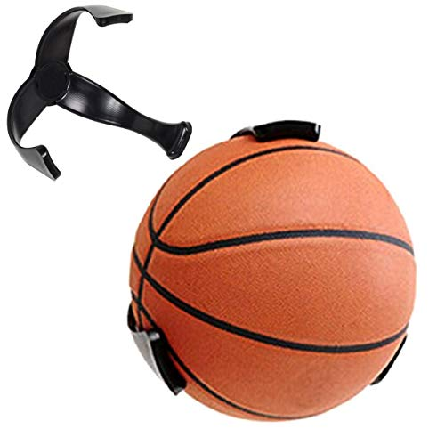 AIFUSI Ball Claws, Wall Mount Basketball Holder Soccer, Football, Volleyball Sports Ball Storage Display Rack Space Saver for Youth Children - 1 PK