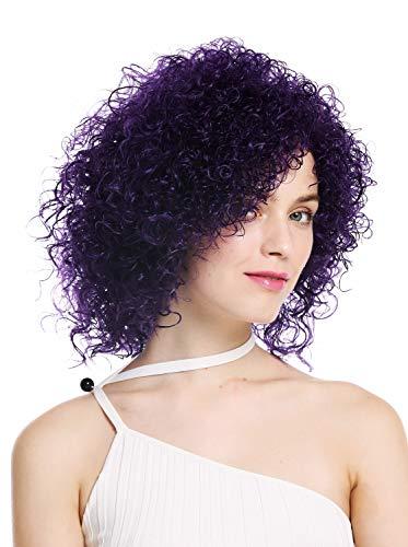 obtener pelucas lila corta en línea