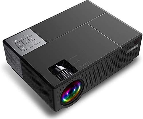 TIANYOU Proyector de Video Digital 4000 Lúmenes 1920 X Gran capacidad y pantalla grande. / A
