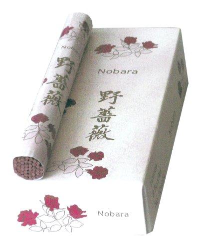 Anvenor NOBARA - Wilde Rose - Marke: KenmeiDo - Rolle mit ca.36 Räucherstäbchen 14cm