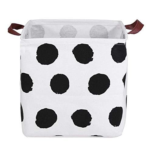 FloraGrantnan Laundry basket Folding Laundry Basket Storage Basket Sundries Books Lego Kids Dog Toys Organizer Storage Box Cube Clothes Home Storage Bag