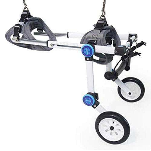 Imbracatura per la mobilità del cane, passeggini per cani, sedia a rotelle per cani, zampe posteriori per animali domestici, auto assistita, deambulatore, riabilitazione per disabili, carrello per ca