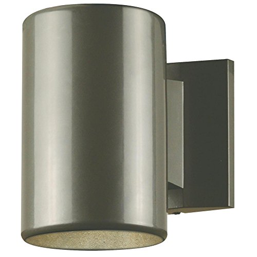 Westinghouse Lighting 6797300 One-Light, Polished Graphite Finish Outdoor Wall Fixture