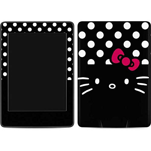 Skinit Decal Tablet Skin Compatible with Kindle Paperwhite E-Reader 6in - Officially Licensed Sanrio Hello Kitty Black Design