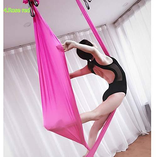 HEEGNPD Voorwaarde 6M Yoga Hangmat Stof 20 Kleuren Nylon Tricot Yoga Riem Swing 100% Kwaliteit Garantie
