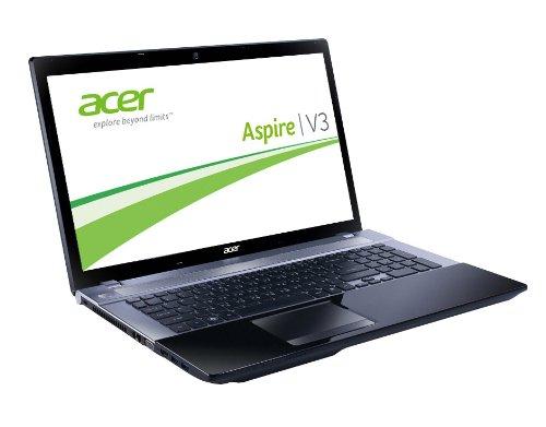 Acer Aspire V3-731-B9604G50Makk 43,9 cm (17,3 Zoll) Notebook (Intel Pentium B960, 2,2GHz, 4GB RAM, 500GB HDD, Intel HD, DVD, Win 8) schwarz