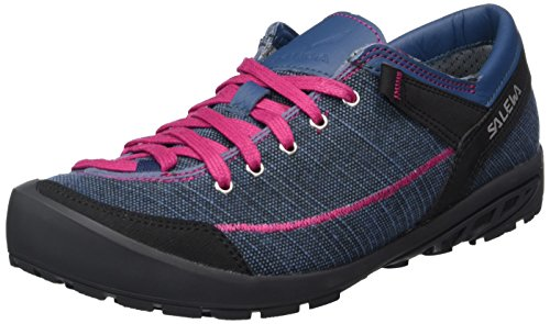 Salewa Damen ALPINE ROAD Halbschuh Oxford, Blau (Washed Denim/Fuchsia 8585), 40 EU