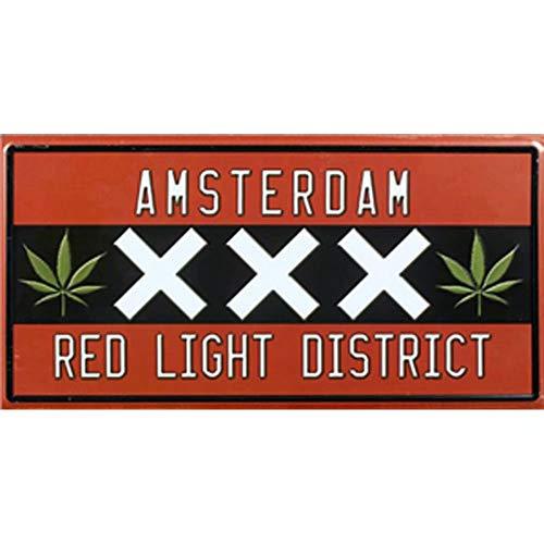 Wanddekoration Städte Amsterdam-
