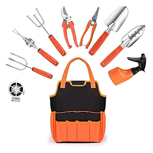 Ensemble d'outils de jardinage,10 pièces Kit d'outils de...