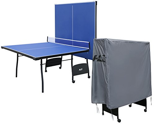 Hyner 9ft Professional Table Tennis Table Full Size Ping Pong Table with waterproof Cover