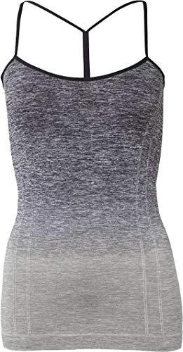 Golden Lutz - Damen Yoga-Top, ärmellos (Gr. M 40/42, grau Farbverlauf) | CRIVIT