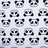 Gxrzyclh 180cm Breite 100% Polyester Flanell Stoff Panda