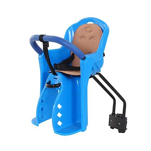 XYLUCKY Kindersitz fürs Fahrrad, Kindersitz für die Kindertrage, einstellbar auf 5-Punkte-Gurt Super Safe für Ihr Kind,Blue