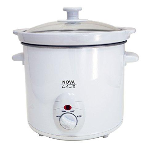 Nova Laus Slow Cooker Olla DE COCCIÓN Lenta 3 litros