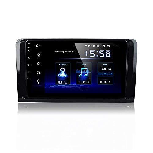 Laicve Single Din Autoradio für Benz ML W164 X164 ML350 ML320 ML280 GL350 Auto Dab Radio-DSP-Unterstützung GPS WiFi USB Carplay Spiegel Link-Lenkrad-Steuerung