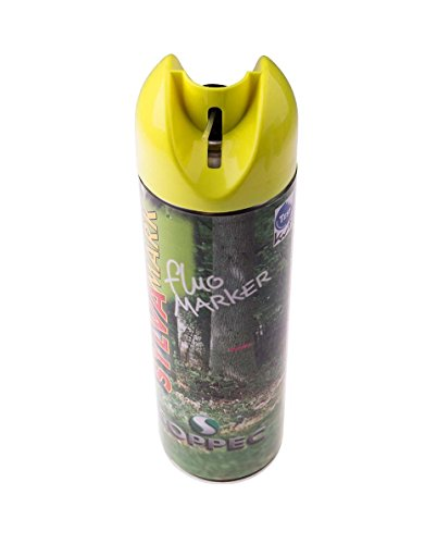 Traceur fluo Soppec, traceur aérosol forestier jaune fluo