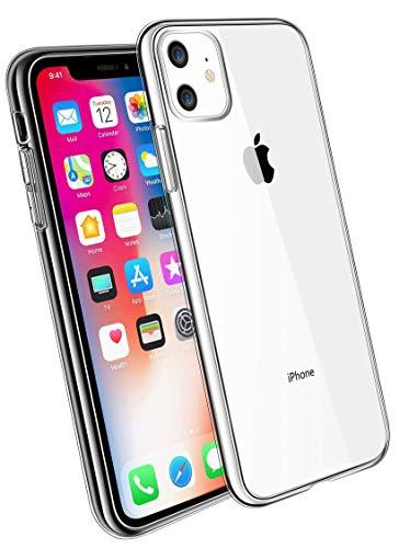 COVERbasics Cover iPhone 11 PRO (AIRGEL) Custodia Trasparente in Silicone Gel Gomma TPU Sottile Fina Ultra Thin Slim con Bordo Protezione Proteggi Fotocamera Compatibile con Apple iPhone 11 PRO 5.8