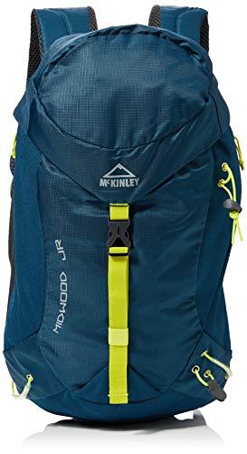 McKinley Midwood - Mochila de senderismo para niños, color azul marino y verde