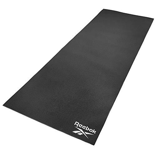 Reebok RAYG-11022BK Esterilla de Yoga, Negro, 173 x 61 x 0.4 cm
