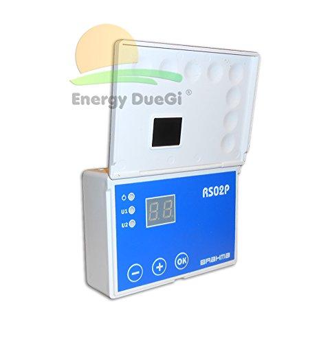 Preisvergleich Produktbild Steuergerät elektronische rs02p komplett-Sonden für Anlagen A Solarzellen Thermo
