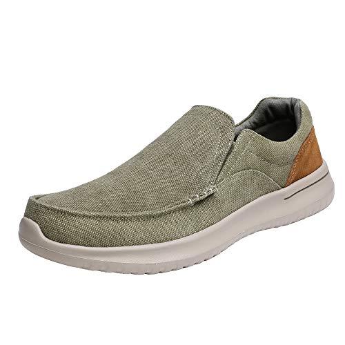 Bruno Marc Hombre Zapatillas de Deporte Ligero Zapatos Casuales Malla Deportivos Aire Libre para Caminar DOCKEY Caqui 41.5 EU/8.5 US