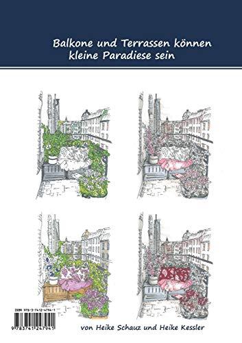 Design your rooms: 36 Balkone und Terrassen zum Ausmalen und Gestalten