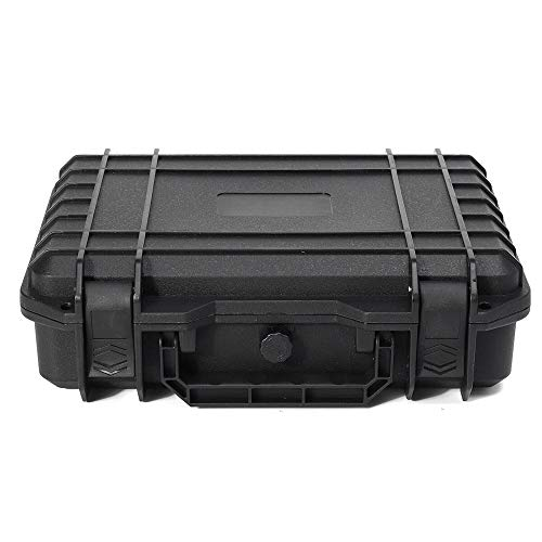 Caja de herramientas portátil de 280 x 240 x 130 mm, impermeable, para herramientas y piezas pequeñas