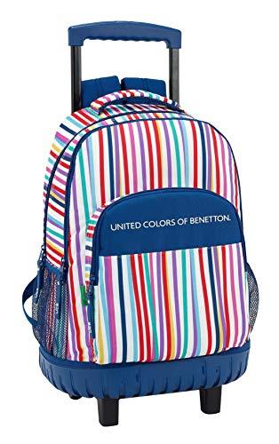 Benetton 611828818 2018 Mochila Escolar, 45 cm