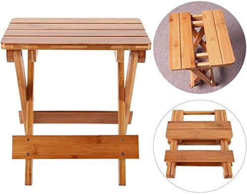 zaizai Muebles de jardín Taburete Plegable para niños Niños Adultos, Taburete Plegable portátil Multifuncional Silla Taburete Plegable Bancos pequeños Muebles para el hogar